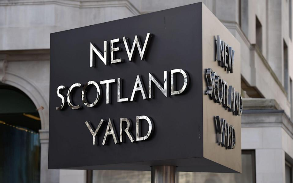 Scotland Yard said police were called to reports of an assault on Market Place - PA