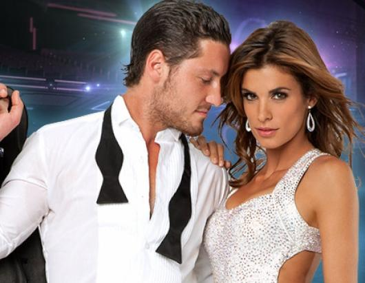 "Elisabetta Canalis, model and actress, partners up with Val Chmerkovskiy, who makes his ""Dancing with the Stars"" debut as a professional partner this season"
