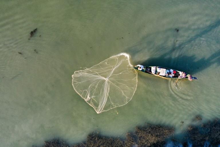 Rivers are meanwhile often polluted with viruses and bacteria, oil spills and industrial chemicals