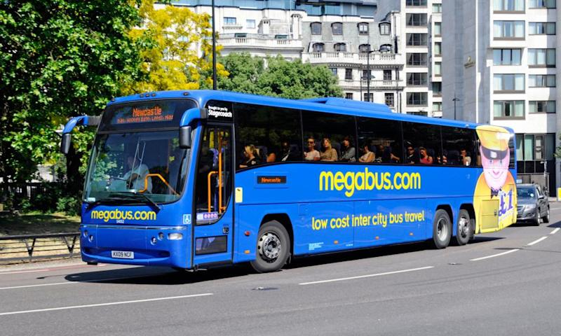 Stagecoach has seen its coach ticket sales fall dramatically.