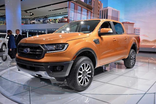 Ford Motor doesn't sell the made-in-Thailand Ranger in the U.S. because of the 25% tariff on pickup trucks.
