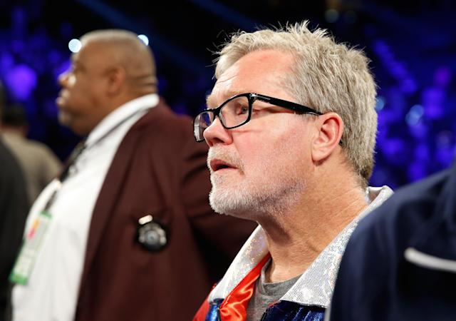 Ramirez parted ways with renowned trainer Freddie Roach earlier this year. (Getty Images)