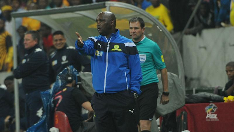 Sundowns coach Pitso Mosimane full of praise for his charges after stretching their lead at the top of the PSL