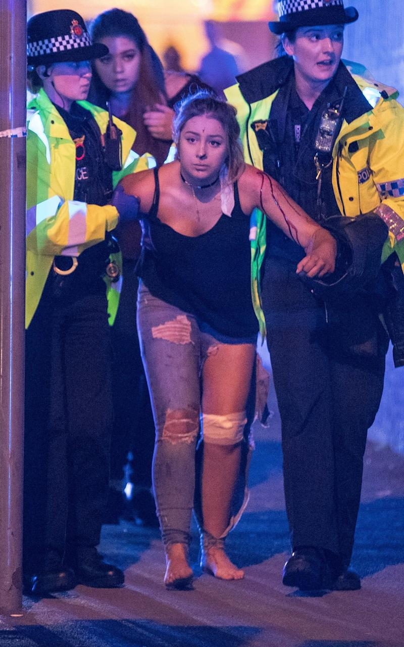 Manchester Arena terror attack - London News Pictures Ltd