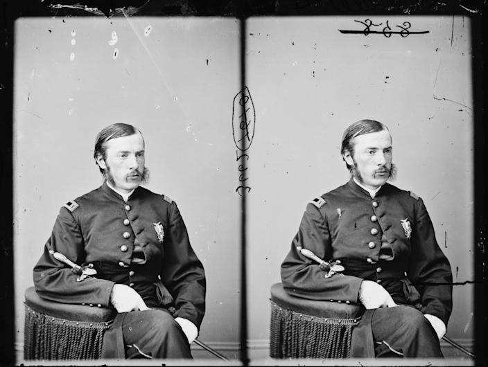 This undated photo provided by the Library of Congress shows Dr. Charles A. Leale, who was the first doctor to treat President Abraham Lincoln after he was shot at a Washington theater on the night of April 14, 1865. Now, 147 years later, a researcher with the Papers of Abraham Lincoln Project has discovered an original copy of Dr. Leale's clinical 21-page report from the night Lincoln was shot. (AP Photo/Library of Congress)