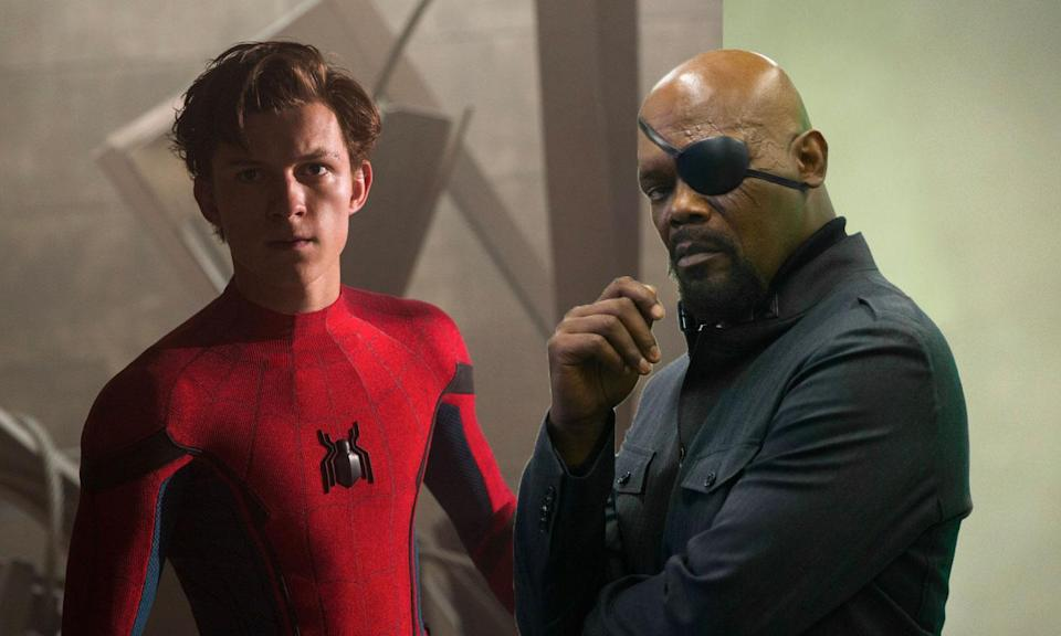 Could Nick Fury appear in <i>Spider-Man: Far From Home</i>? (Sony Pictures/Marvel)