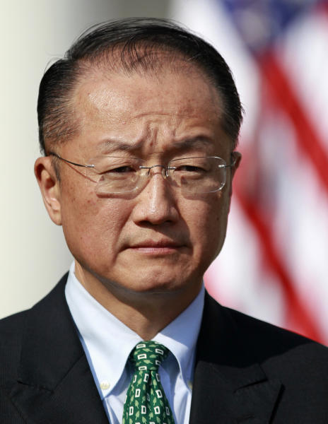 Jim Yong Kim, President Barack Obama's nominee to be the next World Bank President, stands in the Rose Garden of the White House in Washington, Friday, March 23, 2012. Kim is currently the president of Dartmouth College. (AP Photo/ Haraz N. Ghanbari)