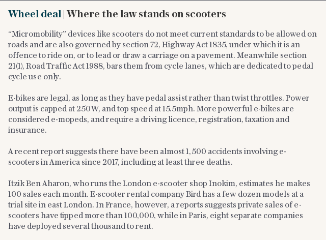 Wheel deal | Where the law stands on scooters