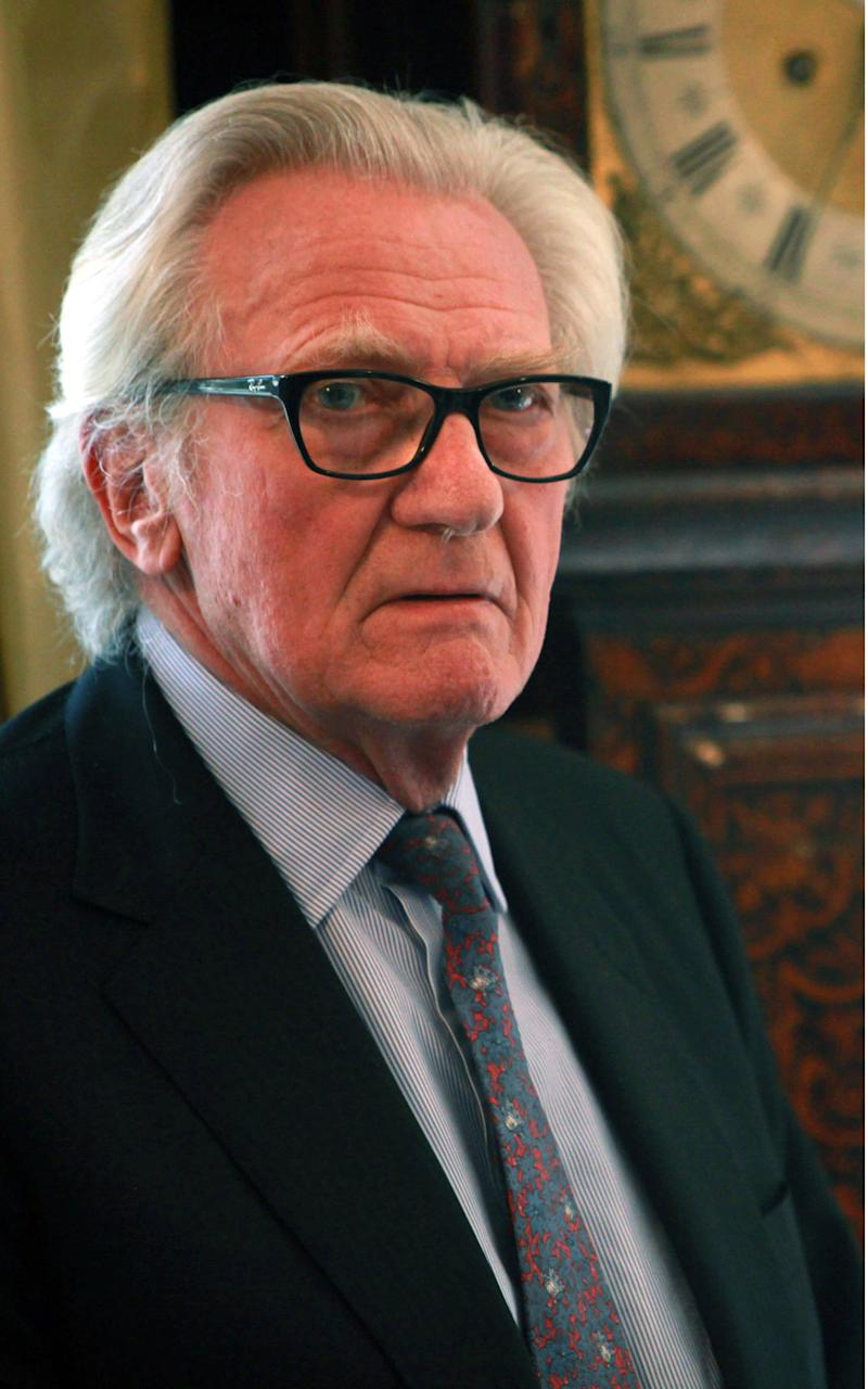 Lord Heseltine - Credit: rex