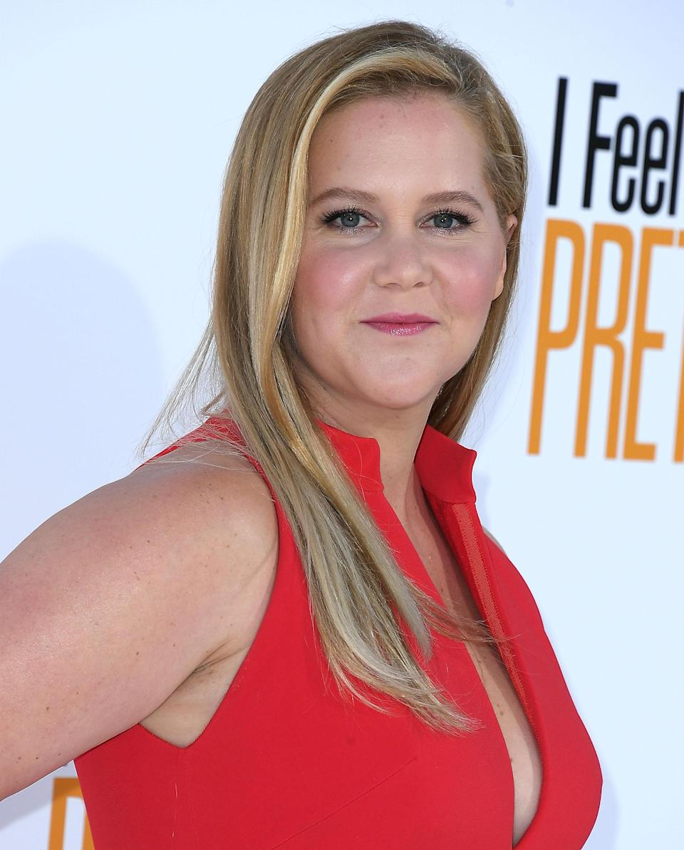Amy Schumer. Image via Getty Images.