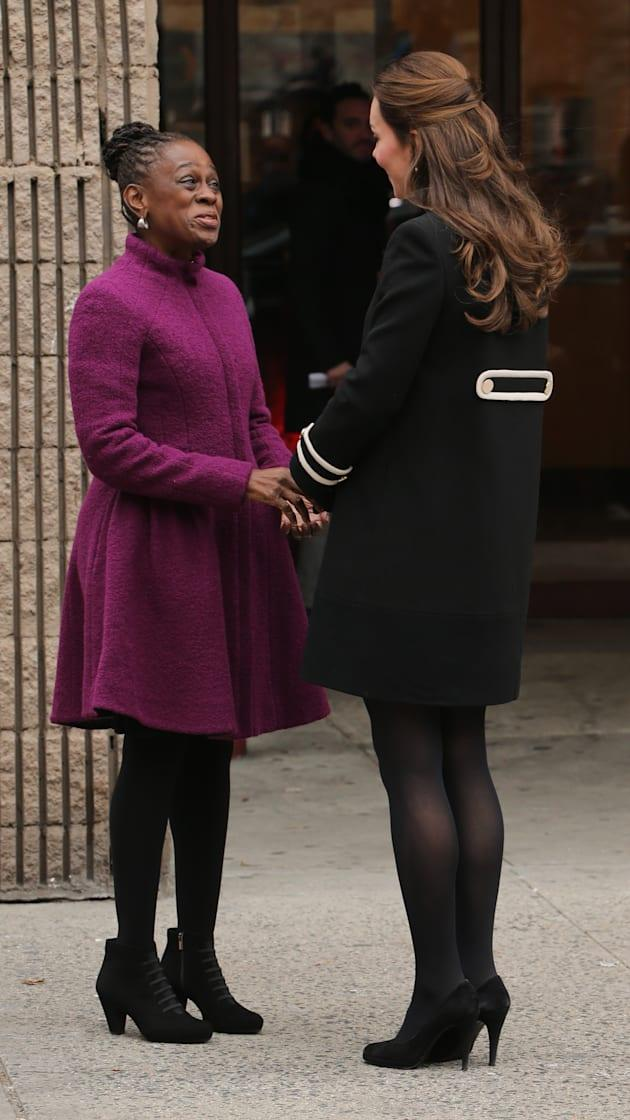 The Duchess Of Cambridge And First Lady Of New York City Visit Northside Center For Child Development