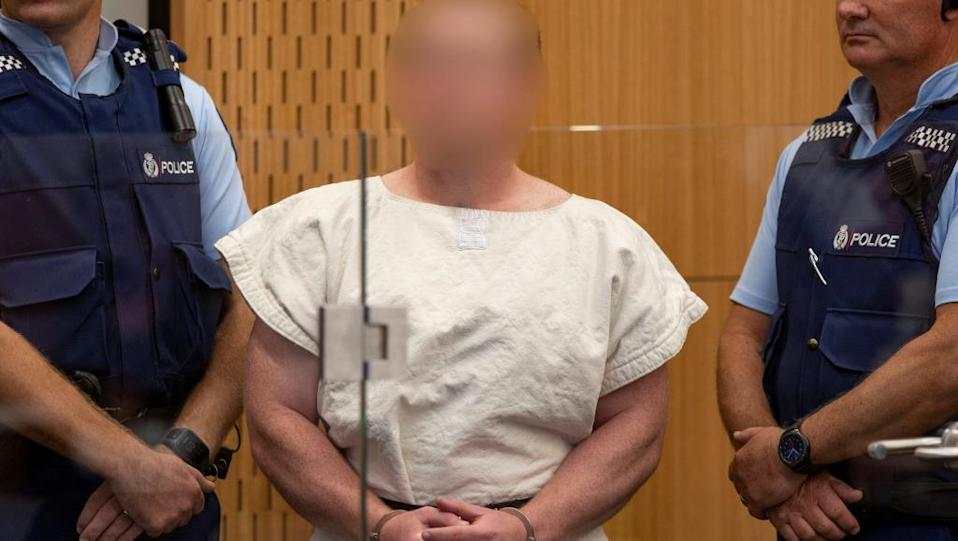 Australian man Brenton Tarrant has been charged with murder following Friday's Christchurch mosque shootings.