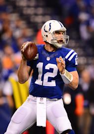 Colts quarterback Andrew Luck (Andrew Weber-USA TODAY Sports)
