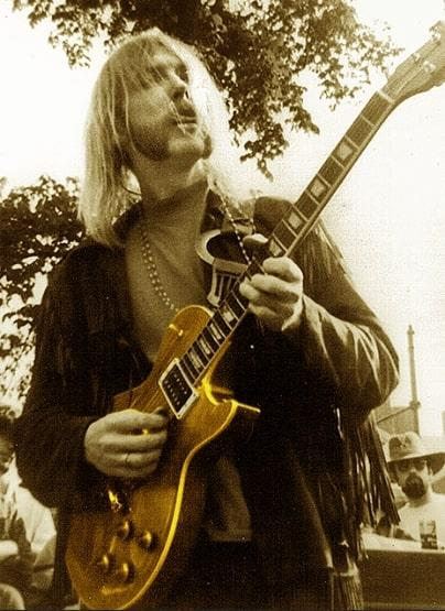 """Duane Allman's iconic """"Layla"""" guitar sold for $1.25 million at auction."""