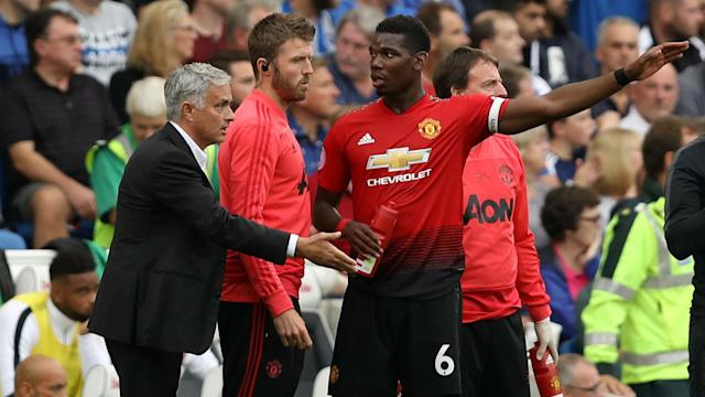 Andreas Pereira has given his account of a training ground bust-up involving Paul Pogba and Jose Mourinho last month.
