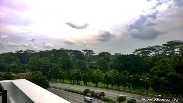 Bidadari from balcony