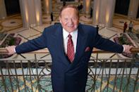 "<p>The multibillionaire casino owner and prominent donor to the Republican Party <a href=""https://people.com/politics/sheldon-adelson-casino-owner-republican-donor-dies-87/"" rel=""nofollow noopener"" target=""_blank"" data-ylk=""slk:died on Jan. 11"" class=""link rapid-noclick-resp"">died on Jan. 11</a>. He was 87.</p> <p>His casino and resort destination Las Vegas Sands announced the news, confirming that Adelson died from ""complications related to treatment for non-Hodgkin's Lymphoma."" There will be a funeral held in Israel, with a Las Vegas memorial service at a later date. According to <em><a href=""https://www.forbes.com/profile/sheldon-adelson/?sh=18075974a224"" rel=""nofollow noopener"" target=""_blank"" data-ylk=""slk:Forbes"" class=""link rapid-noclick-resp"">Forbes</a></em>, he was worth $35 billion. The outlet added that in 2018 alone, he donated some $123 million to Republican PACs and campaigns. </p> <p>""He will be missed by people from all parts of the world who were touched by his generosity, kindness, intellect and wonderful sense of humor,"" the Sands staff said in a <a href=""https://investor.sands.com/press-releases/press-release-details/2021/Las-Vegas-Sands-Announces-Passing-of-Company-Founder-and-Industry-Changing-Entrepreneur-Sheldon-G.-Adelson/default.aspx"" rel=""nofollow noopener"" target=""_blank"" data-ylk=""slk:press release"" class=""link rapid-noclick-resp"">press release</a>. </p>"