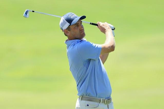 American Brendon Todd fired a five-under par 65 Friday to seize a two-stroke lead after the second round of the WGC St. Jude Invitational at Memphis, Tennessee (AFP Photo/ANDY LYONS)