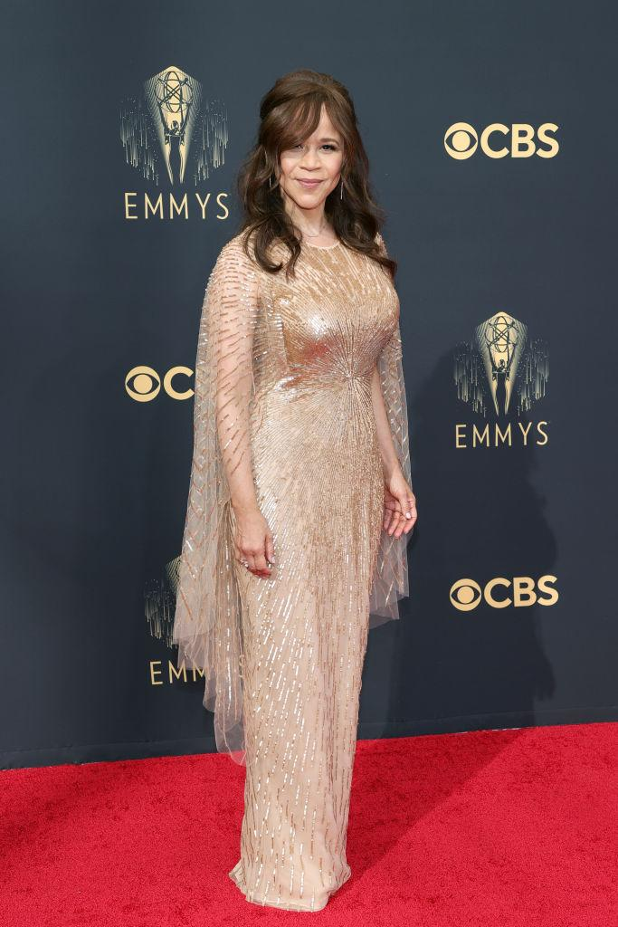 Rosie Perez attends the 73rd Primetime Emmy Awards on Sept. 19 at L.A. LIVE in Los Angeles. (Photo: Rich Fury/Getty Images)