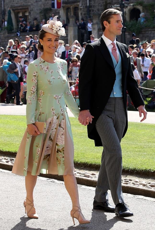 <p><span>Although technically not a royal, the Duchess of Cambridge's sister, Pippa Middleton, garners her fair share of attention. </span><br /><span>The 35-year-old made headlines this year after giving birth to her first child with her husband, James Matthews. On October 15th the pair welcomed a son, Arthur Michael William Matthews weighing 8lbs and 9oz. </span><br /><span>Baby Arthur is the first cousin for Prince George, Princess Charlotte and Prince Louis, and will celebrate his first Christmas with the rest of the Middleton clan at the family's home in Bucklebury, Berkshire. </span><br /><span>(Image via Getty Images). </span> </p>
