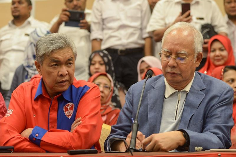 Both Najib and Zahid have now been charged with multiple counts of offences for CBT, money laundering and graft. — Picture by Mukhriz Hazim