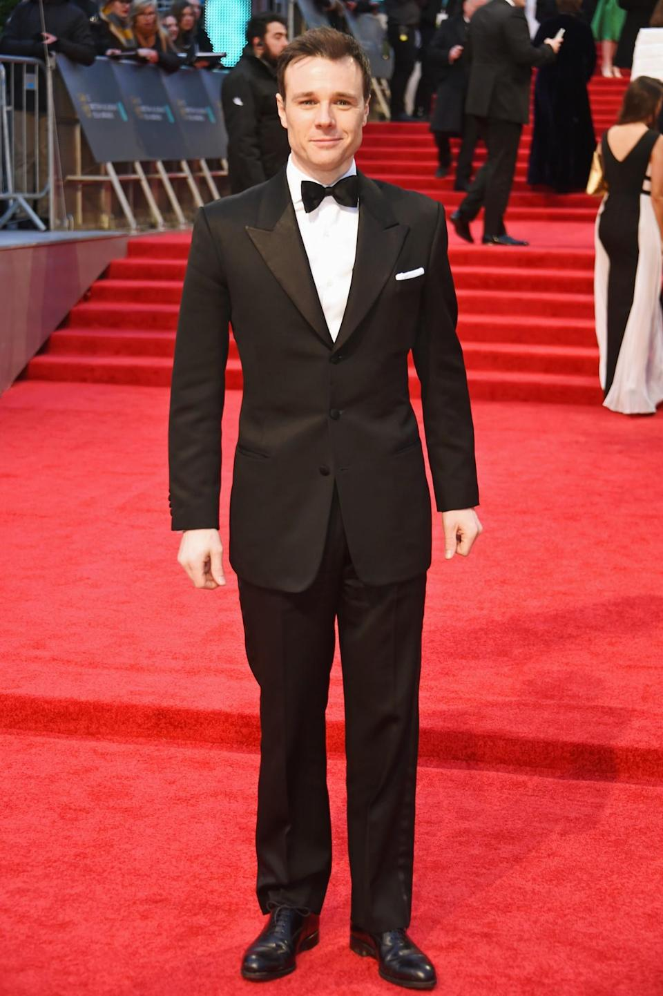 <p>Rupert opted for a traditional tux. <i>[Photo: Getty]</i> </p>