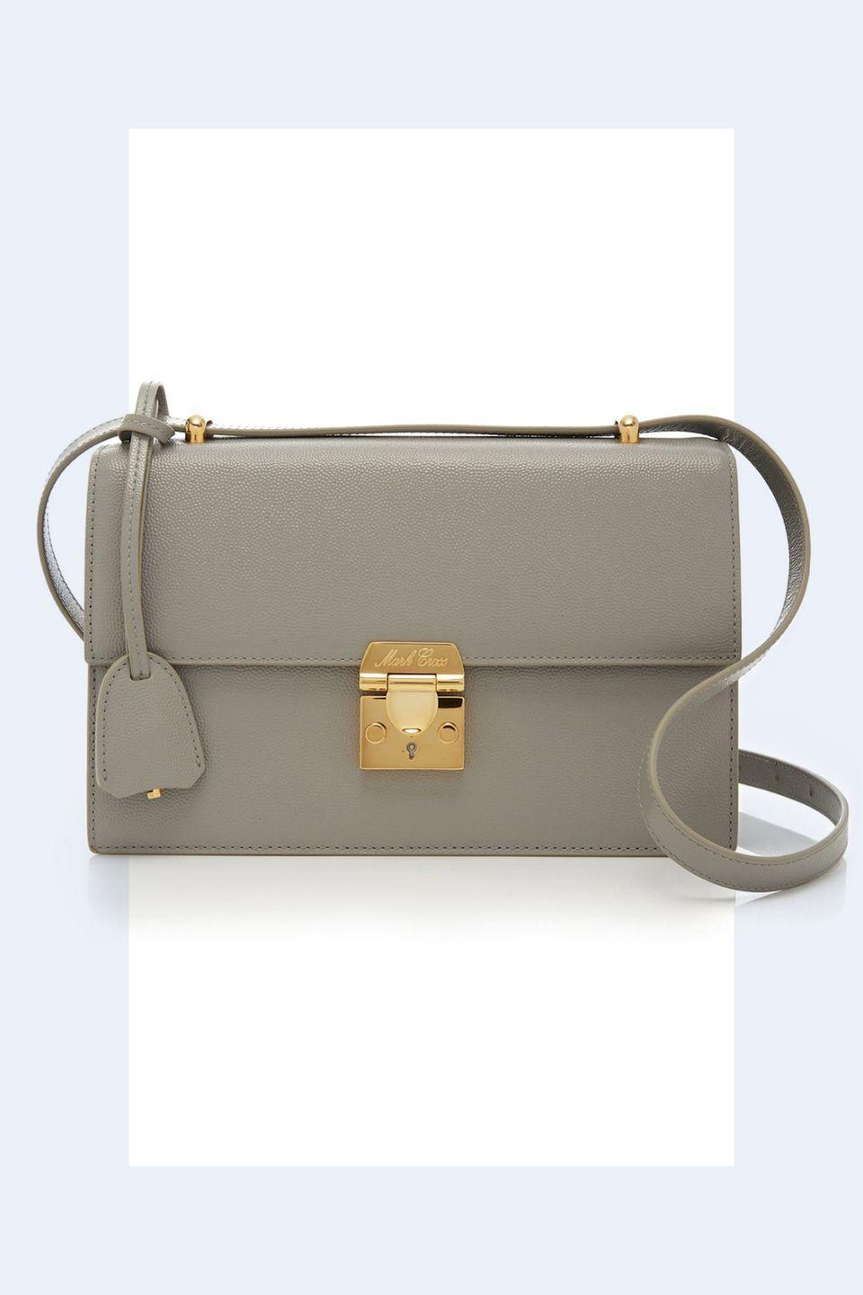 """<p><a rel=""""nofollow noopener"""" href=""""https://www.modaoperandi.com/mark-cross-fw18/downtown-caviar-crossbody?size=OS"""" target=""""_blank"""" data-ylk=""""slk:SHOP NOW"""" class=""""link rapid-noclick-resp"""">SHOP NOW</a> <em>Mark Cross Caviar Purse, $1,995</em></p><p>""""Accessories are fun! While they are of course functional, they can be transformational for your outfit. A lot of designers are playing around with bag sizes-oversized, super tiny. A woman carrying a 'power' bag demands attention."""" -<em><a rel=""""nofollow noopener"""" href=""""http://www.andrewgelwicks.com/"""" target=""""_blank"""" data-ylk=""""slk:Andrew Gelwicks"""" class=""""link rapid-noclick-resp"""">Andrew Gelwicks</a></em></p>"""