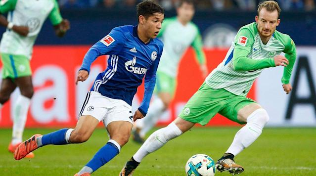 <p>Schalke and Wolfsburg both have hopes of lifting domestic silverware this season, but only one will advance to the DFB Pokal semifinals when they clash on Wednesday.</p><p>Both clubs eked their way into the quarterfinals, with Schalke edging Koln 1-0 and Wolfsburg requiring extra time to put away Nurnberg, eventually winning 2-0. In their one Bundesliga meeting this season, Schalke and Wolfsburg drew at the Veltins Arena, which is the site of Wednesday's match.</p><p>The winner will join Bayern Munich and Bayer Leverkusen in the final four along with the winner of Eintracht Frankfurt's clash vs. Mainz.</p><p>Here's how to watch the match:</p><p><strong>Time</strong>: 2:45 p.m. ET</p><p><strong>TV</strong>: None in USA</p><p><strong>Live Stream</strong>: You can watch the match via WatchESPN.</p>