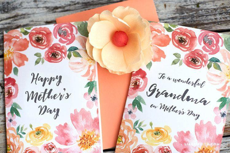 """<p>While you have watercolors top of mind, here's another DIY to consider. This version, however, is entirely printable!</p><p><strong>Get the printable at <a href=""""https://go.redirectingat.com?id=74968X1596630&url=https%3A%2F%2Fliagriffith.com%2Fpretty-floral-mothers-day-cards%2F&sref=https%3A%2F%2Fwww.thepioneerwoman.com%2Fholidays-celebrations%2Fg35668391%2Fdiy-mothers-day-cards%2F"""" rel=""""nofollow noopener"""" target=""""_blank"""" data-ylk=""""slk:Lia Griffith"""" class=""""link rapid-noclick-resp"""">Lia Griffith</a>. </strong></p><p><a class=""""link rapid-noclick-resp"""" href=""""https://www.amazon.com/Watercolor-Painting-Flexible-Coloring-Calligraphy/dp/B01N9IY5QF?tag=syn-yahoo-20&ascsubtag=%5Bartid%7C2164.g.35668391%5Bsrc%7Cyahoo-us"""" rel=""""nofollow noopener"""" target=""""_blank"""" data-ylk=""""slk:SHOP WATERCOLOR PENS"""">SHOP WATERCOLOR PENS</a></p>"""