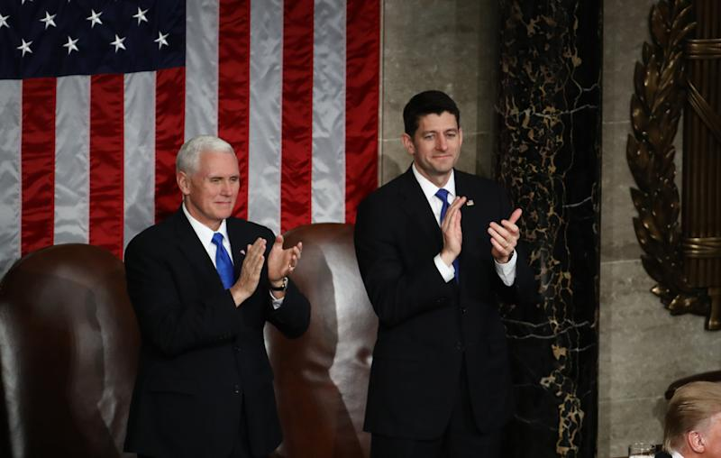 It's unclear who started applauding first in this photo.