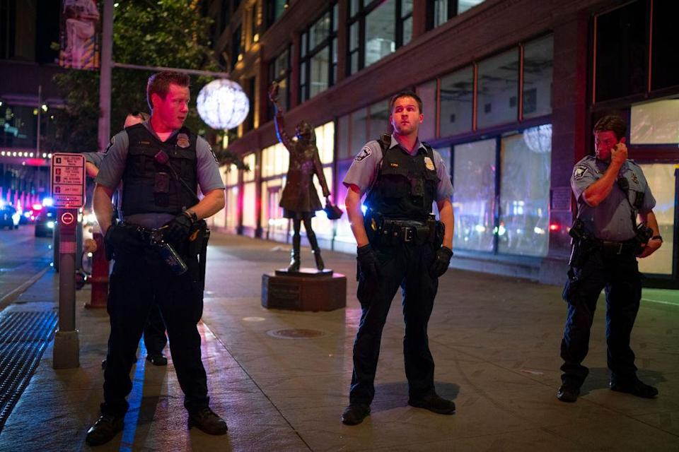 A group of northern Minneapolis community members are waiting for a decision from a judge after filing a lawsuit against the city for diminishing the police presence in their neighborhood