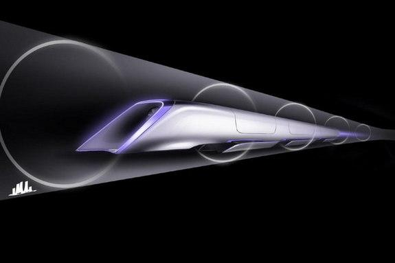 Ultra-Fast 'Hyperloop' Train Gets Test Track in California