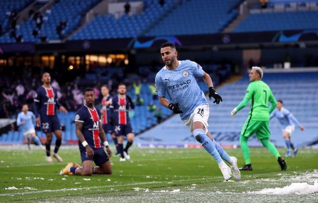 City got the better of PSG in last year's semi-finals