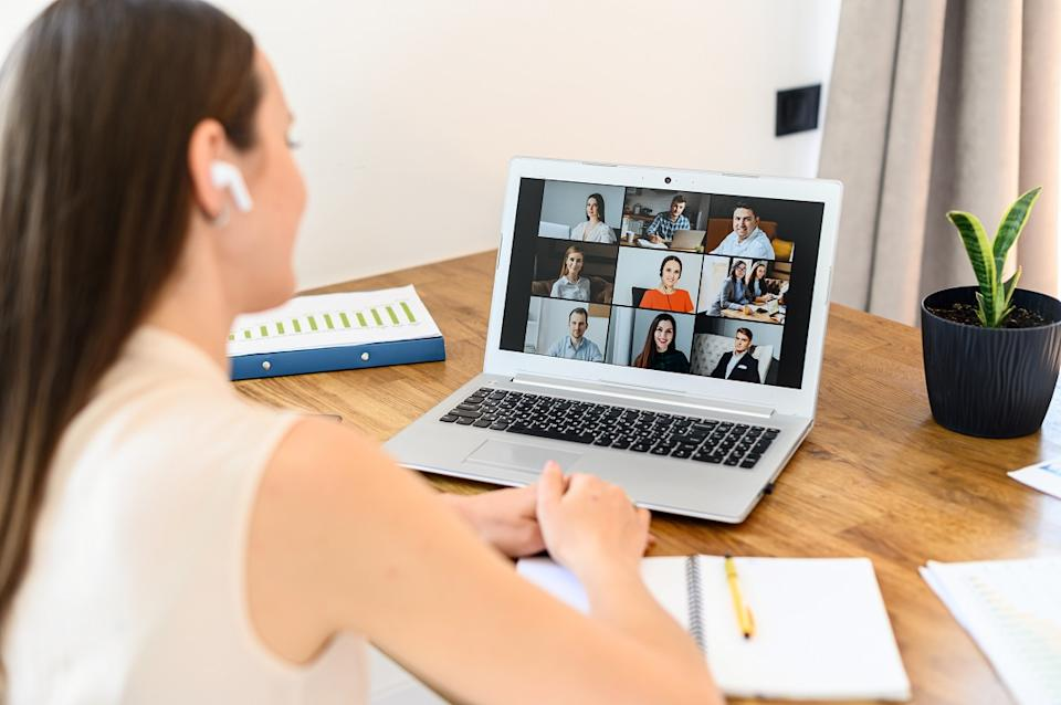 The energy and bandwidth you use on things like Video calls translate to CO2 emissions