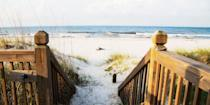 """<p>In addition to gorgeous white-sand beaches, Gulf Shores hosts numerous events throughout the year, including the Hangout Music Festival and an annual <a href=""""https://www.tripadvisor.com/Attraction_Review-g30582-d10020679-Reviews-National_Shrimp_Festival_Alabama-Gulf_Shores_Alabama.html"""" rel=""""nofollow noopener"""" target=""""_blank"""" data-ylk=""""slk:National Shrimp Festival"""" class=""""link rapid-noclick-resp"""">National Shrimp Festival</a>, so there's plenty to do apart from working on your tan. </p><p><a class=""""link rapid-noclick-resp"""" href=""""https://go.redirectingat.com?id=74968X1596630&url=https%3A%2F%2Fwww.tripadvisor.com%2FHotel_Review-g30753-d113291-Reviews-Perdido_Beach_Resort-Orange_Beach_Alabama.html&sref=https%3A%2F%2Fwww.redbookmag.com%2Flife%2Fg34756735%2Fbest-beaches-for-vacations%2F"""" rel=""""nofollow noopener"""" target=""""_blank"""" data-ylk=""""slk:BOOK NOW"""">BOOK NOW</a> Perdido Beach Resort</p><p><a class=""""link rapid-noclick-resp"""" href=""""https://go.redirectingat.com?id=74968X1596630&url=https%3A%2F%2Fwww.tripadvisor.com%2FHotel_Review-g30582-d8869826-Reviews-Hampton_Inn_Gulf_Shores-Gulf_Shores_Alabama.html&sref=https%3A%2F%2Fwww.redbookmag.com%2Flife%2Fg34756735%2Fbest-beaches-for-vacations%2F"""" rel=""""nofollow noopener"""" target=""""_blank"""" data-ylk=""""slk:BOOK NOW"""">BOOK NOW</a> Hampton Inn Gulf Shores </p>"""