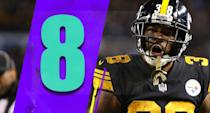 <p>It's hard to say Sunday was a season-saving win over the Patriots, though that might be accurate. The Steelers' playoff hopes at 7-6-1 heading into a game at New Orleans would have been bleak. (Jaylen Samuels) </p>