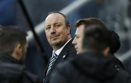Britain Football Soccer - Newcastle United v Preston North End - Sky Bet Championship - St James' Park - 24/4/17 Newcastle manager Rafael Benitez Mandatory Credit: Action Images / Lee Smith Livepic