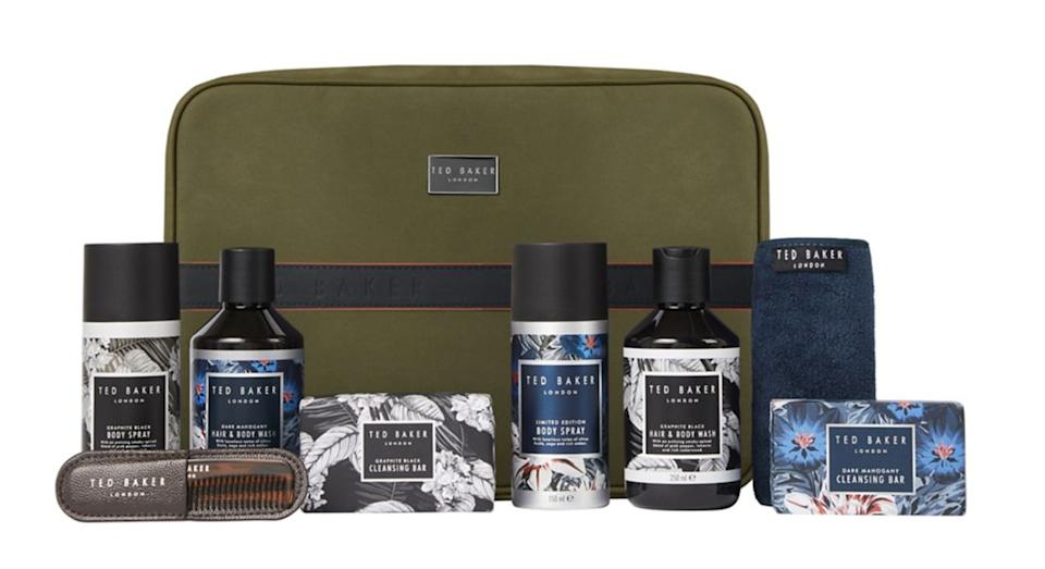 Ted Baker Ted About Town Toiletries Travel Pouch Christmas Gift Set