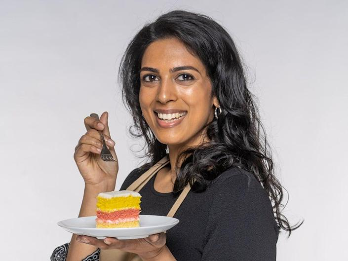 'Bake Off' contestant Crystelle (Mark Bourdillon/Love Productions)