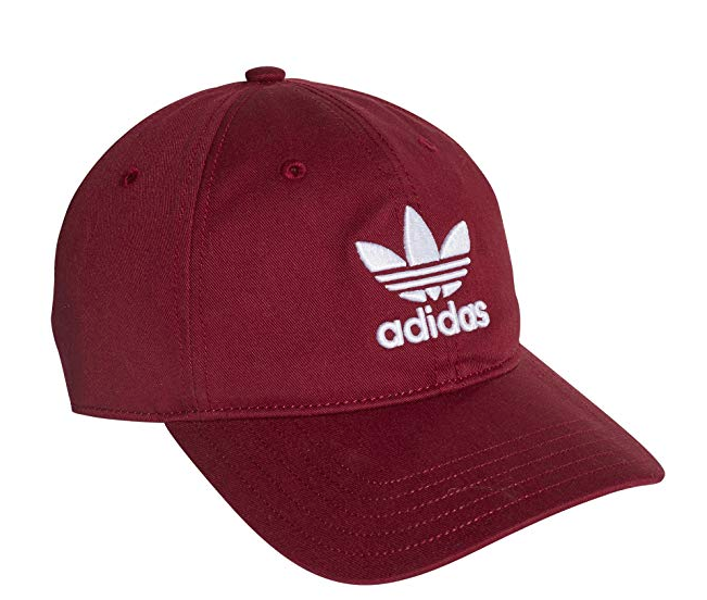 adidas Originals Mens Trefoil Classic Cap. Image via Amazon.
