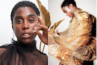 "<p><strong>Lashana Lynch makes history as the first Black female 007.</strong></p><p>As she prepares to star in the 25th Bond film, the actress is on a mission to use her voice for good and represent her race and sex with pride. </p><p><a class=""link rapid-noclick-resp"" href=""https://www.harpersbazaar.com/uk/culture/culture-news/a34517814/lashana-lynch-black-female-007-interview/"" rel=""nofollow noopener"" target=""_blank"" data-ylk=""slk:READ OUR INTERVIEW WITH LASHANA"">READ OUR INTERVIEW WITH LASHANA</a></p>"