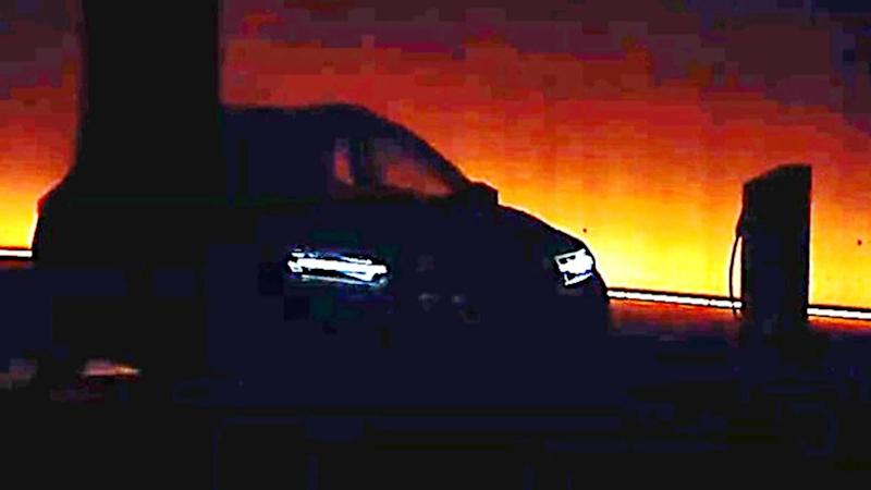 Teaser of the all-electric Dacia Spring