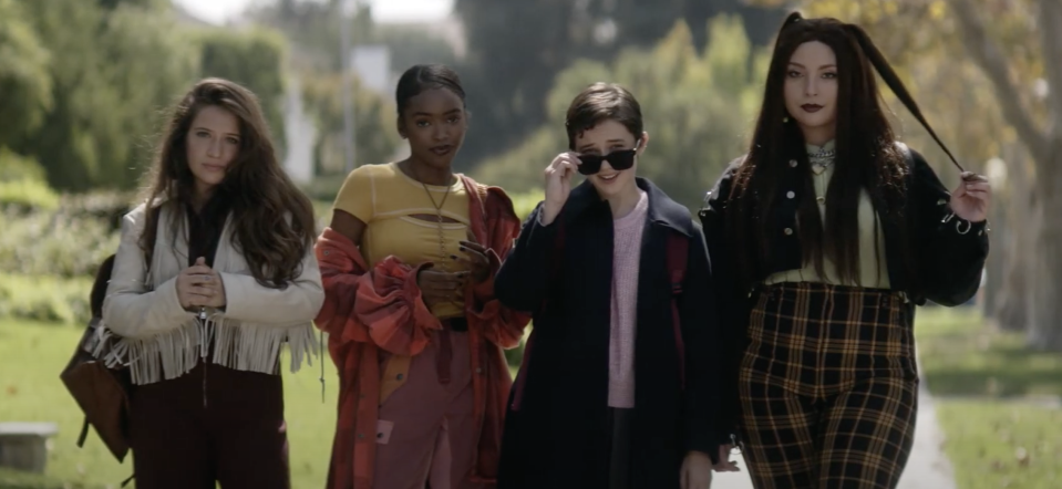 The new coven of The Craft: Legacy (Sony Pictures)