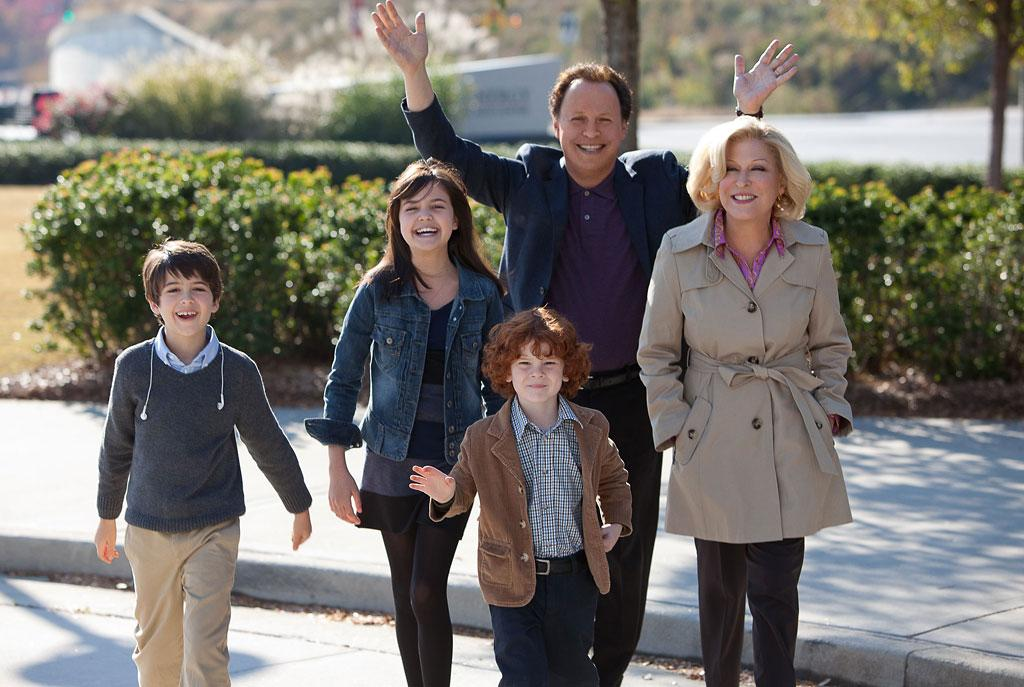 "Joshua Rush, Bailee Madison, Kyle Harrison Breitkop, Billy Crystal and Bette Midler in Twentieth Century Fox' ""Parental Guidance"" - 2012"