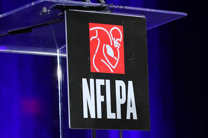 Members of the NFL Players Association and NFL met on Wednesday for bargaining sessions. (Getty Images)