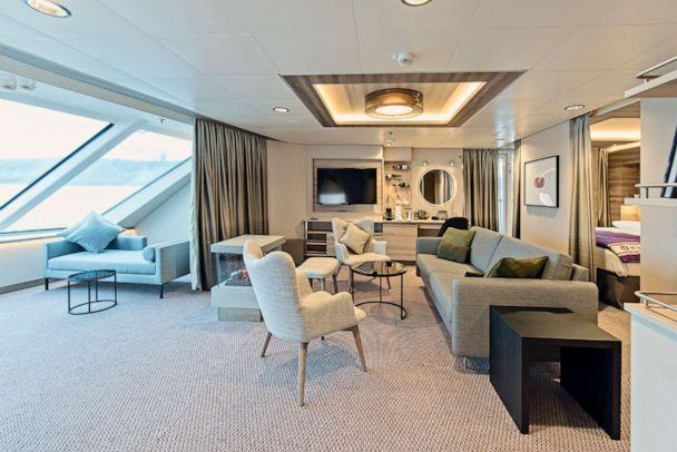 PHOTO: Guests can expect all luxury amenities modern cruise ships have been known for on the MS Roald Amundsen. (Hurtigruten AS)