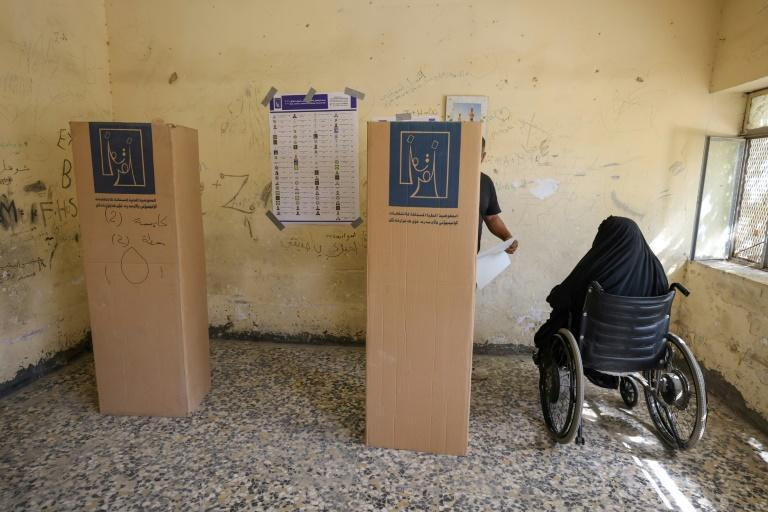 War-scarred Iraq -- an oil-rich country plagued by corruption and poverty -- held its fifth parliamentary elections since the 2003 US-led invasion toppled dictator Saddam Hussein (AFP/Ahmad Al-Rubaye)