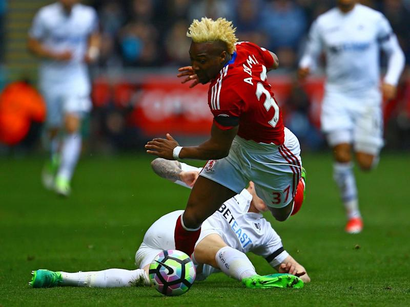 Adama Traore was Boro's main threat (Getty)