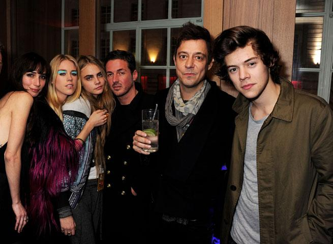 526feacc9b951f The Cara Delevingne Fan Club! Rita Ora And Harry Styles Party With The  Model At War ...