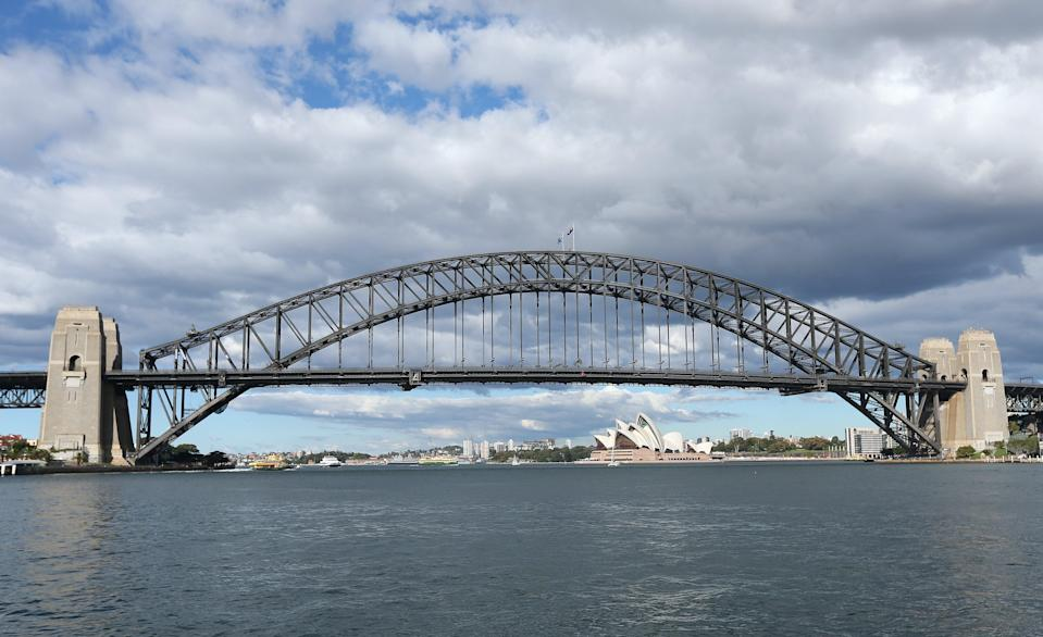 The Sydney Harbour Bridge and the Opera House (David Davies/PA) (PA Archive)